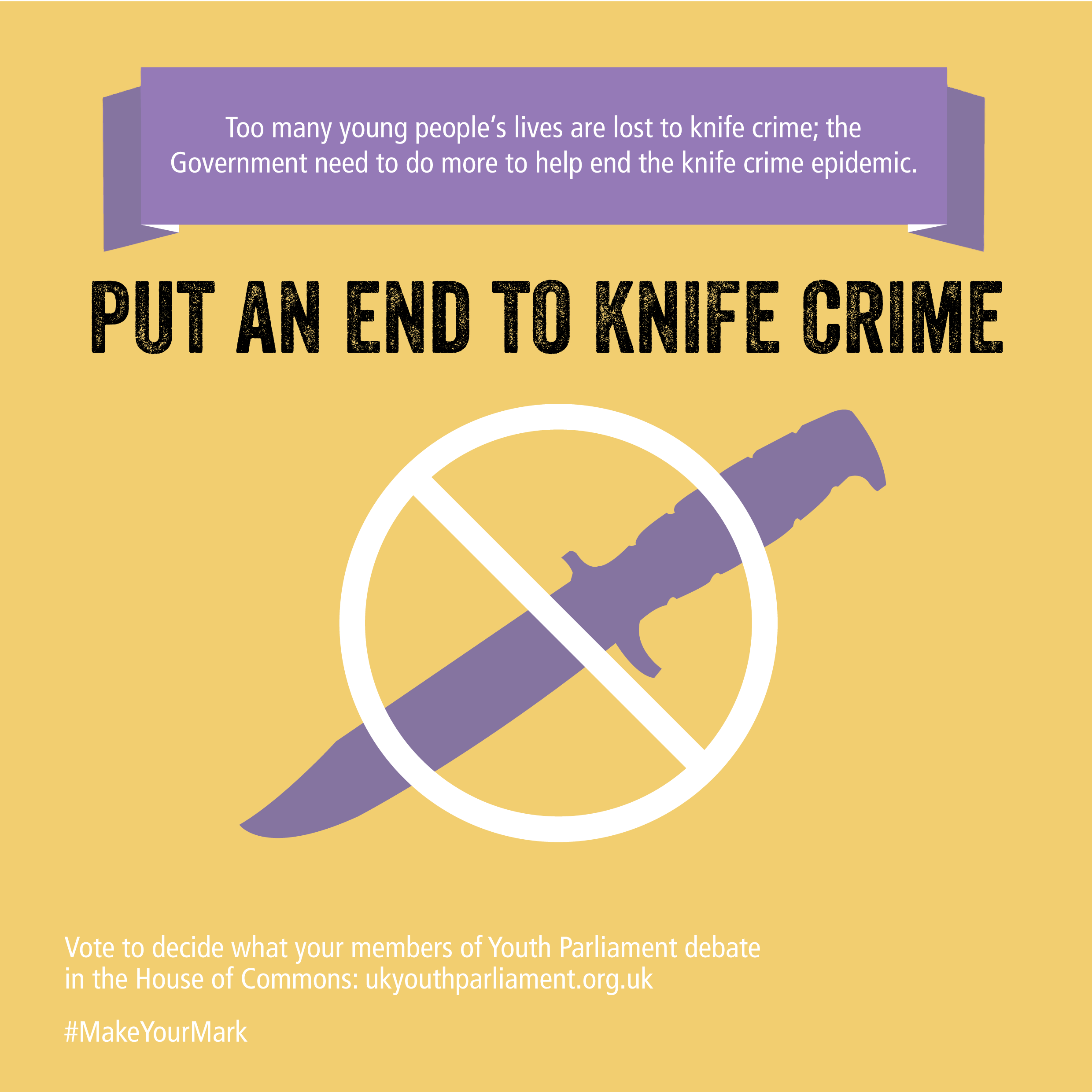 4. Put An End To Knife Crime